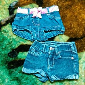 Other - 6 for 20 sale Two pairshorts for little girls